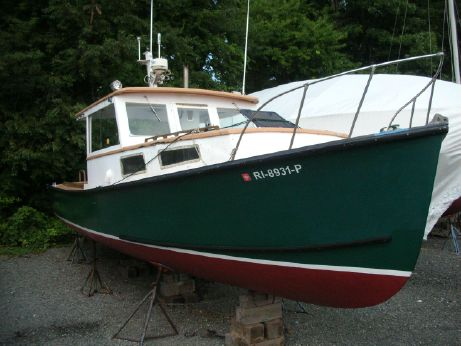 1973 Webbers Cove Lobster boat