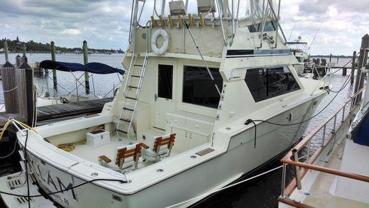 1986 Hatteras 41 Sportfish Convertible