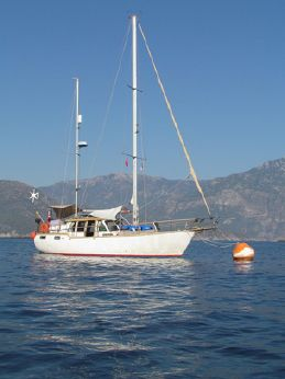 1990 Nauticat 38