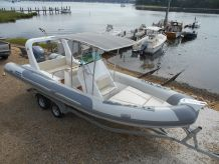 2013 Sea Bum Inflatable RIB760