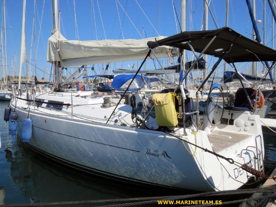 2011 Hanse 400 Sail Boat For Sale - www yachtworld com