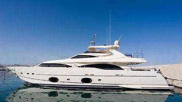2009 Ferretti Yachts CL 97