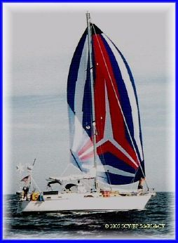 1986 Morgan Catalina 43 CC Sloop