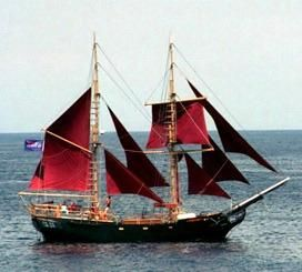 2000 Two Masted Schooner Brigantine