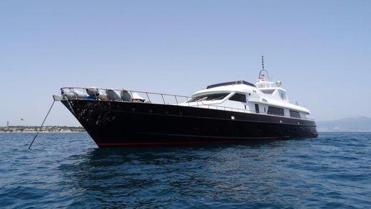 1963 Lurssen Jaguar Navy Vessel