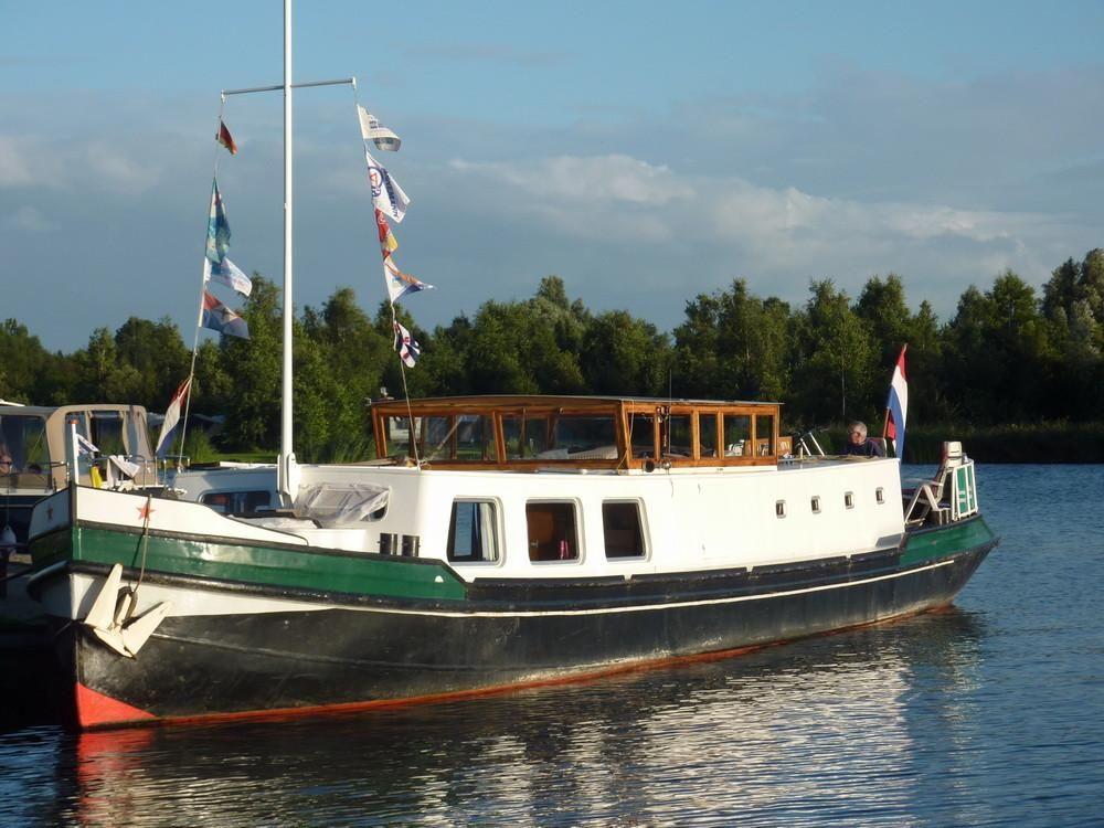 1925 Dutch Barge Luxe Motor Triwv Certified Power Boat