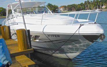 thumbnail photo 2: 2012 Intrepid 475 Sport Yacht