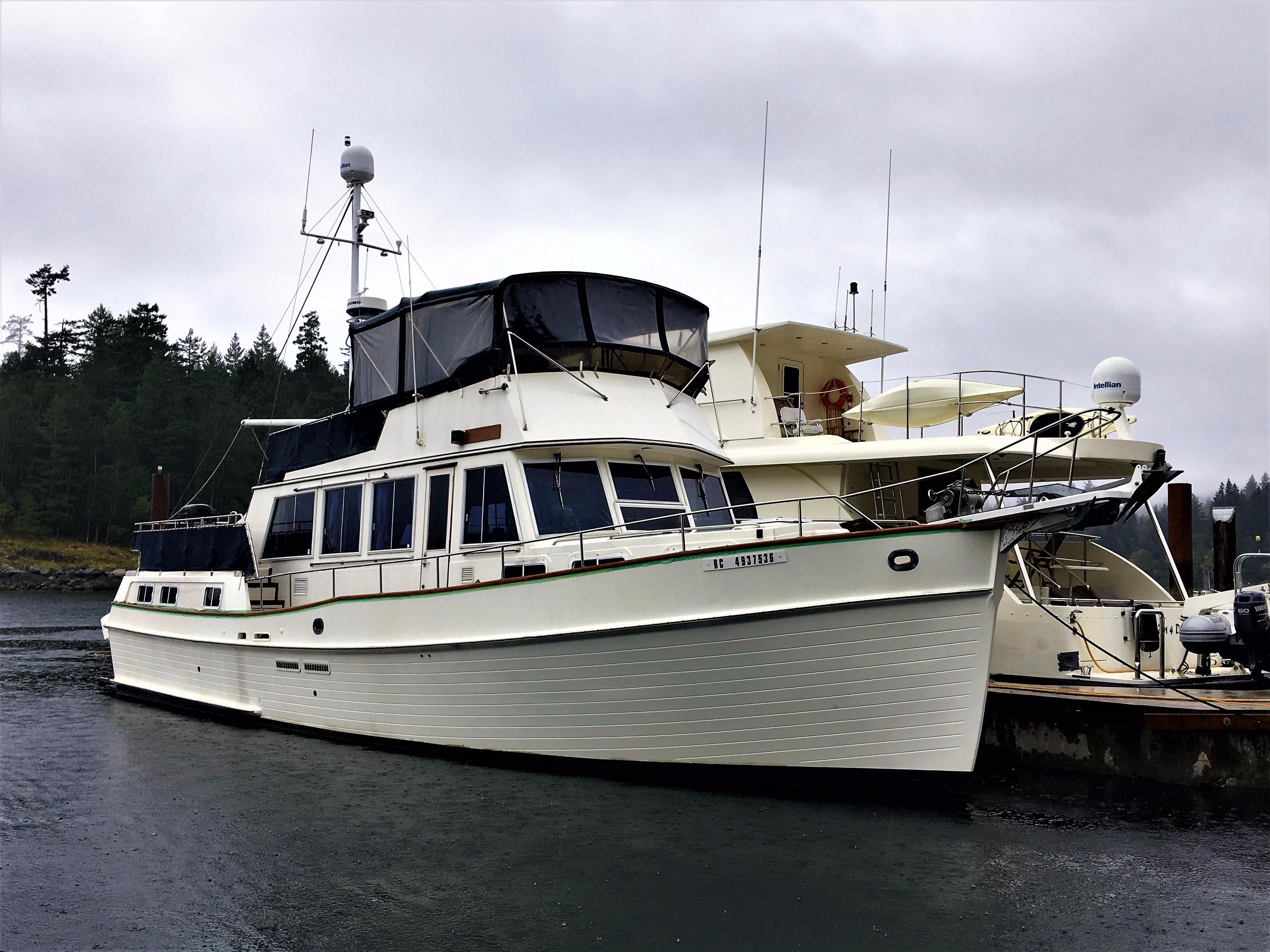 1989 grand banks motor yacht power boat for sale www for Grand banks motor yachts for sale
