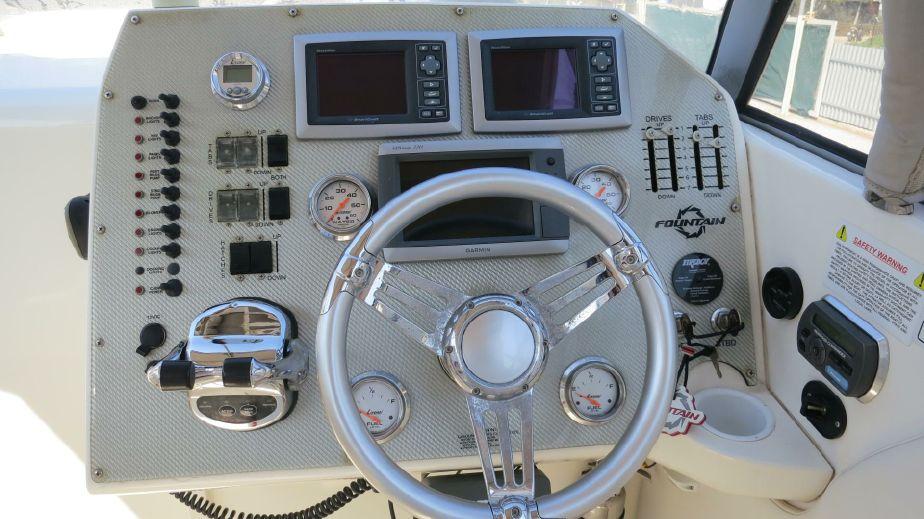 2009 Fountain 42 Lightning Power Boat For Sale - www