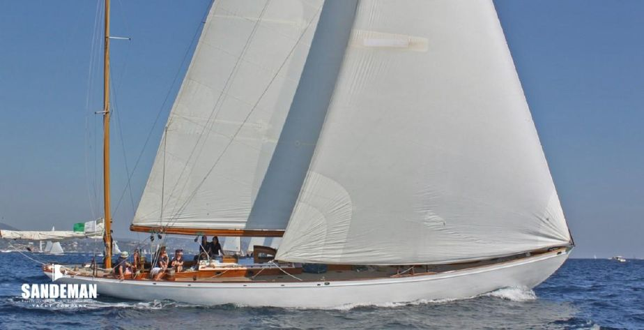 1937 Sparkman & Stephens Yawl Sail Boat For Sale - www