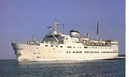 Cruise Ship M/S Birger Jarl 312ft 370pers