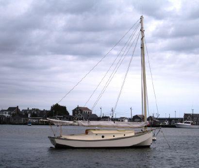 1916 Custom V-Bottom Flats Catboat