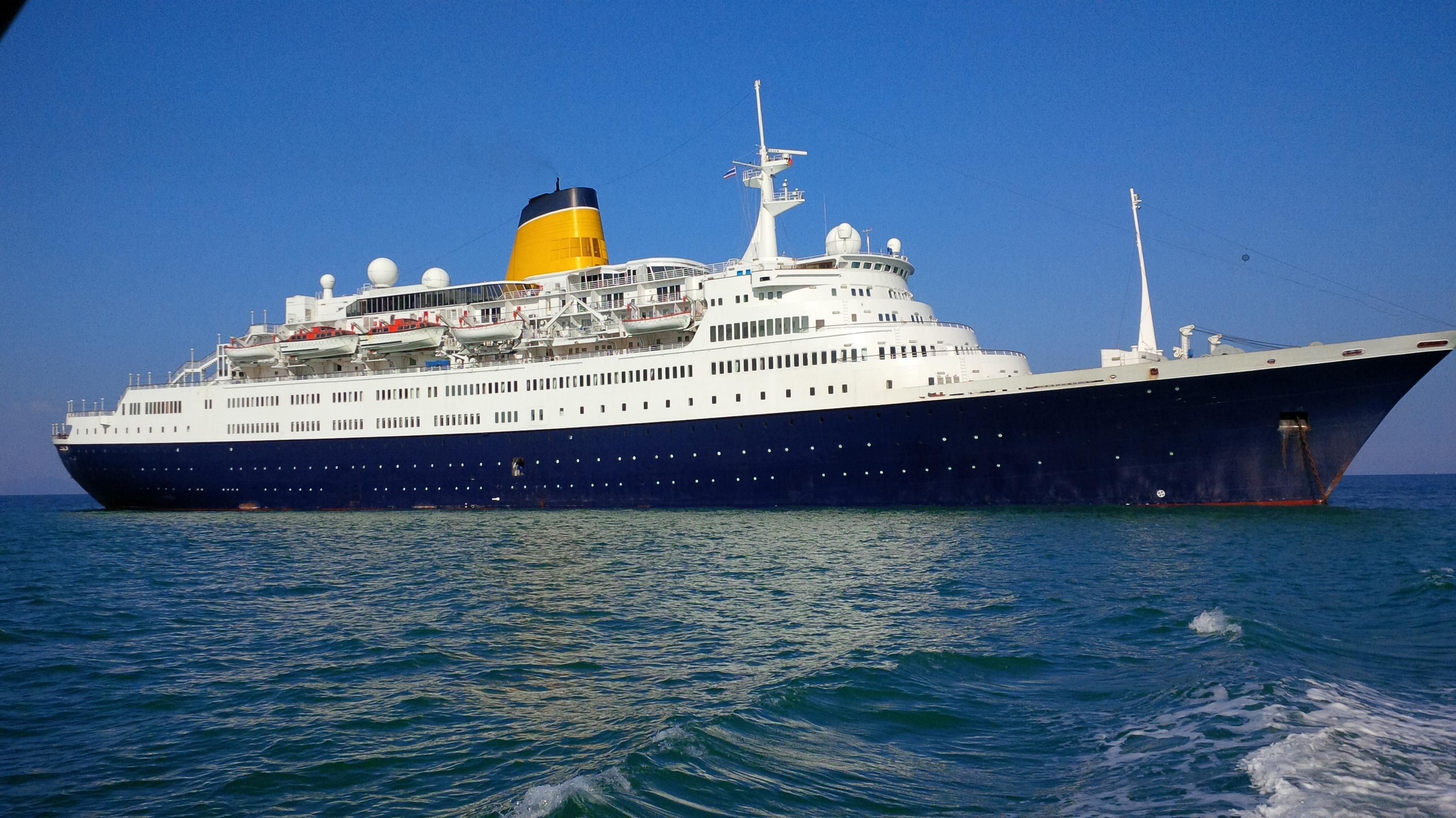 1973 Cruise Ship, 561 Passengers - Coverted To Floating ...