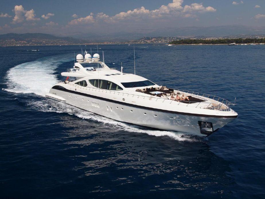 2009 Mangusta 165 Overmarine Power Boat For Sale Www Yachtworld Com