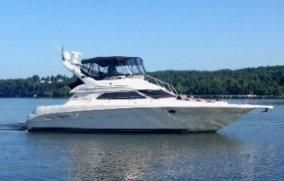 2003 Sea Ray 450 Express Bridge