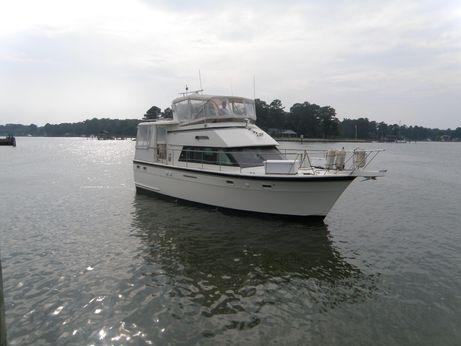 1986 Hatteras 43 Motor Yacht Aft Cabin