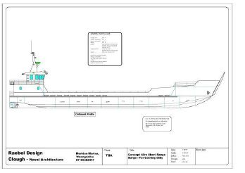 2012 Raebel 45m Landing Barge