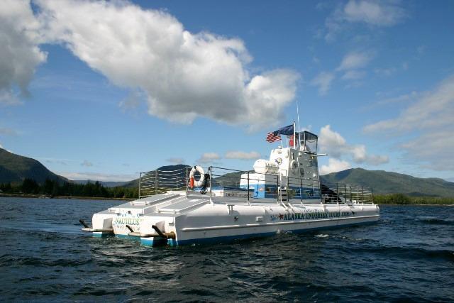 1992 nautilus v semi submersible power boat