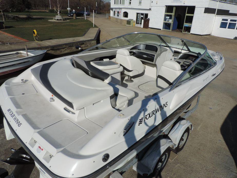 2000 Four Winns Horizon 210 Power Boat For Sale - www