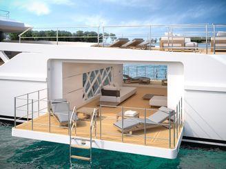 thumbnail photo 2: 2020 Rosetti Superyachts 52m PHI Design Supply Vessel