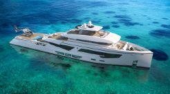2020 Rosetti Superyachts 52m PHI Design Supply Vessel