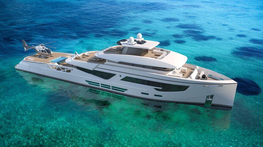 2020 Rosetti Superyachts 52m PHI Design Supply Vessel Power