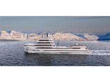 2020 Rosetti Superyachts 85m Spadolini Helipad Supply Vessel