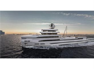 thumbnail photo 1: 2020 Rosetti Superyachts 85m Spadolini Helipad Supply Vessel