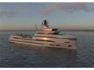 thumbnail photo 2: 2020 Rosetti Superyachts 85m Spadolini Helipad Supply Vessel