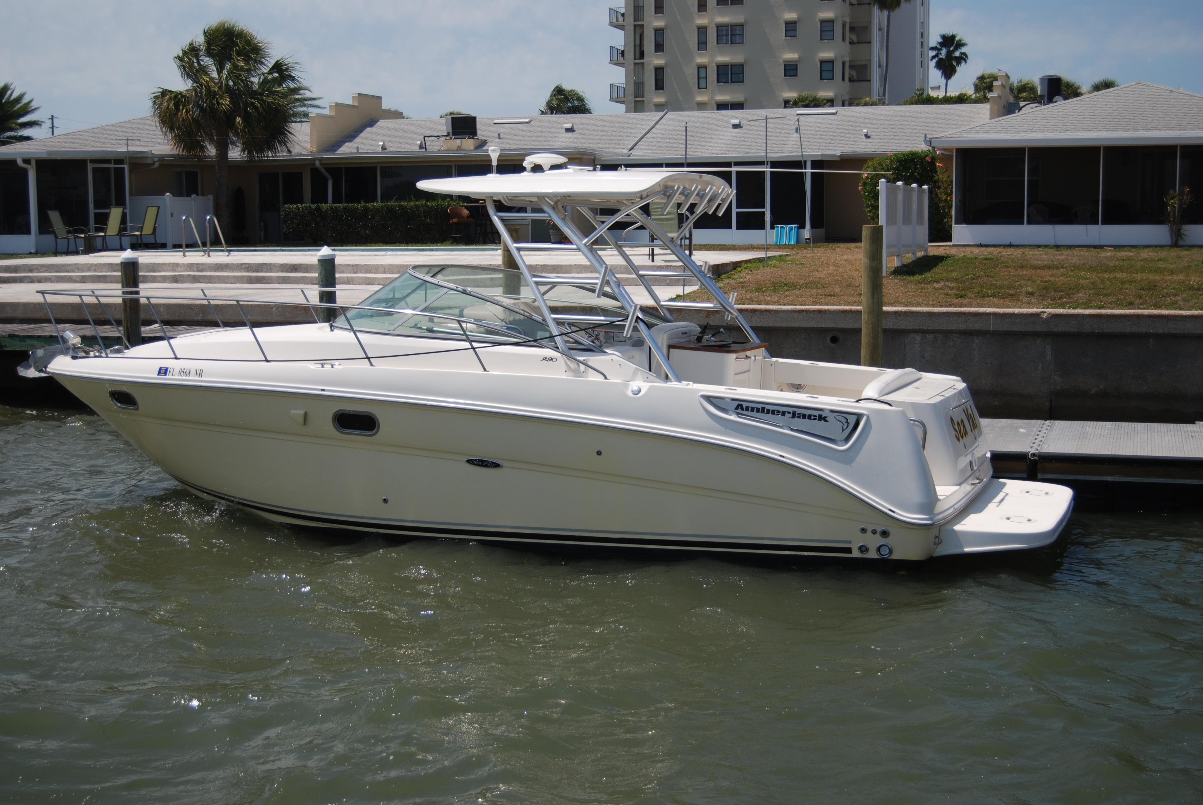 sea ray 290 amberjack boats for sale