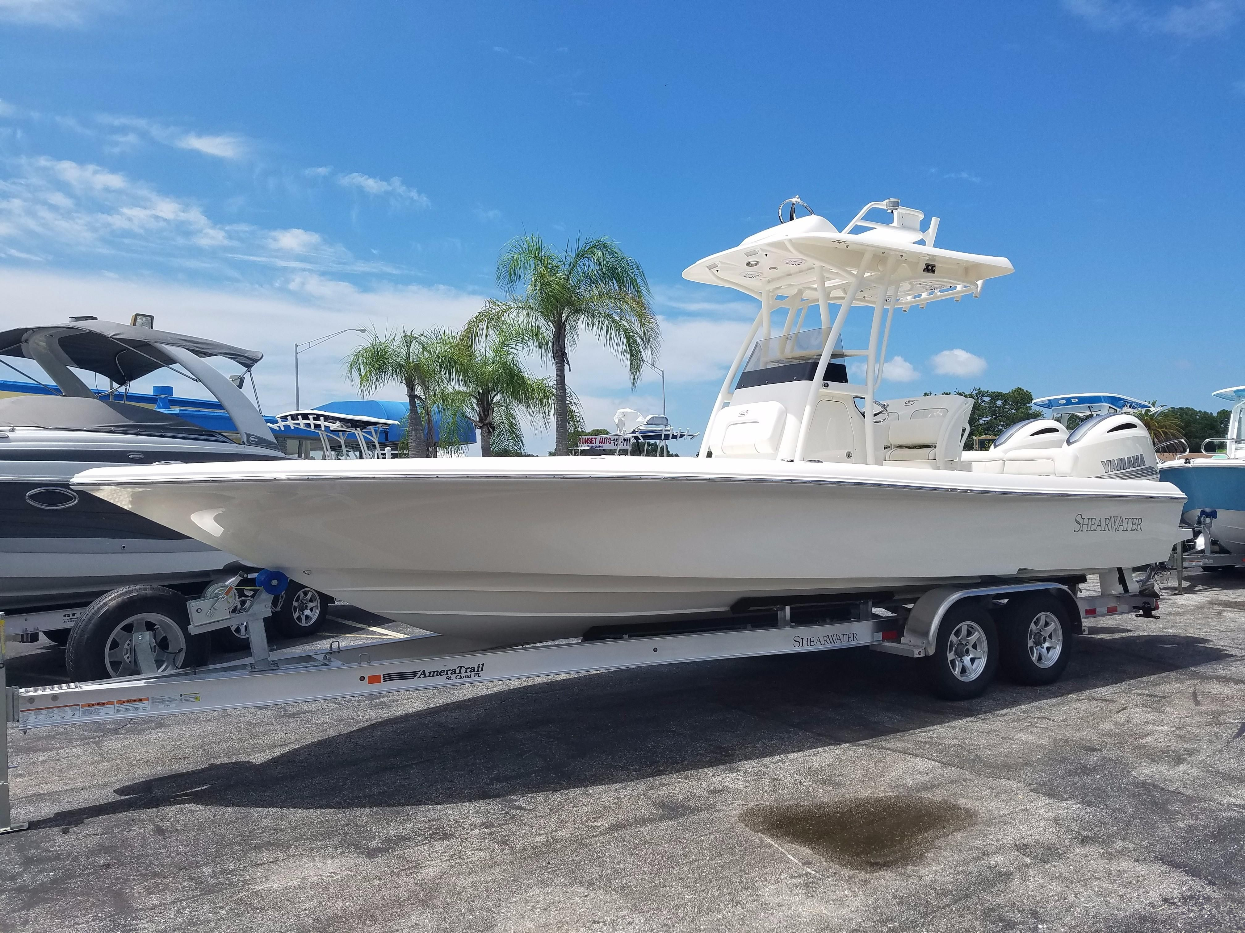 2018 Shearwater 27 Carolina Power New And Used Boats For