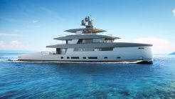 2020 Rosetti Superyachts 50m Ceccarelli Supply Vessel