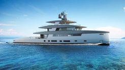 2020 Rosetti Superyachts 85m Spadolini Helipad Supply Vessel Power