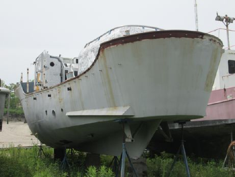 1960 Coast Guard 44' motor life/rescue boat