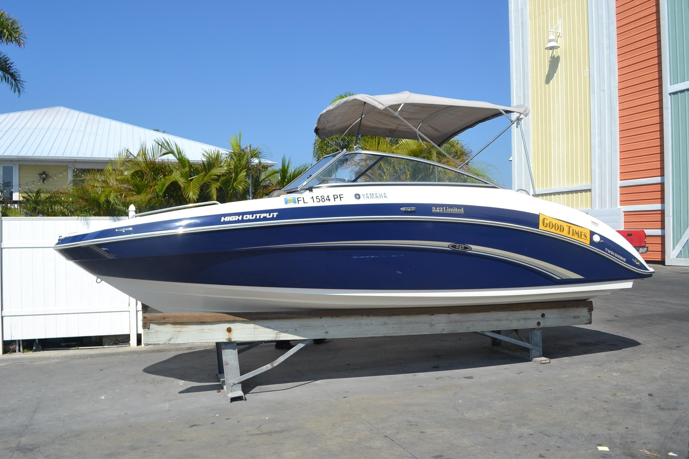 2011 yamaha 242 limited power boat for sale www for Yamaha dealer tampa