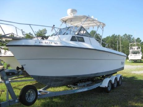1993 Angler 252 Walk Around