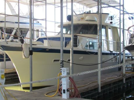 1984 Hatteras 53 Extended Deck