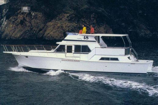 1982 Uniflite 48 Yacht Fisherman