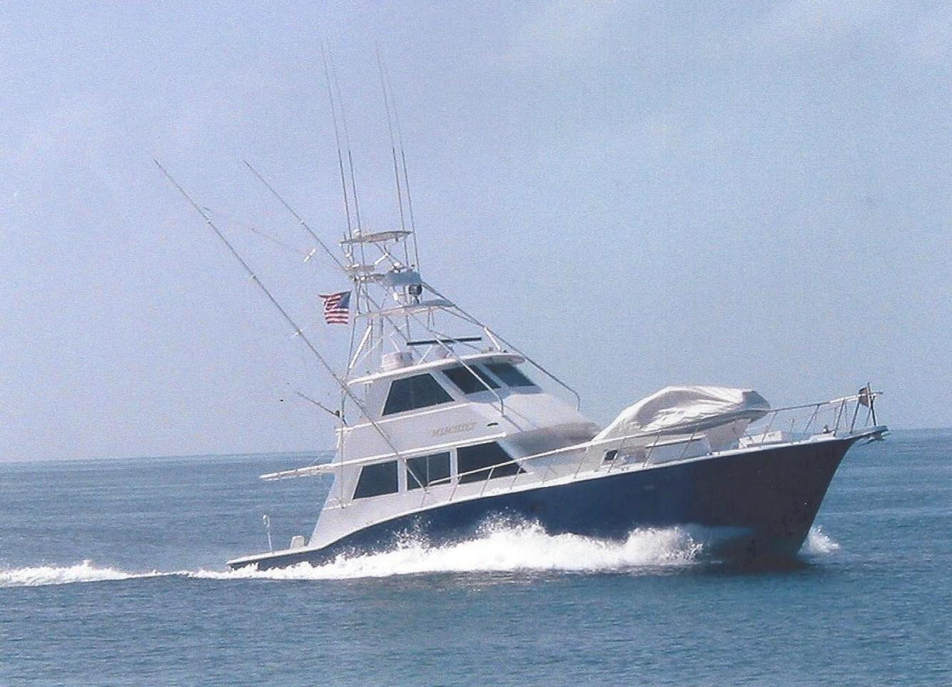 60 ft 1985 hatteras convertible enclosed flybridge with tower