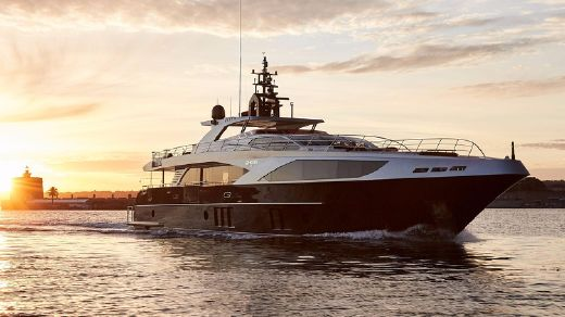 2018 Majesty Yachts Majesty 122
