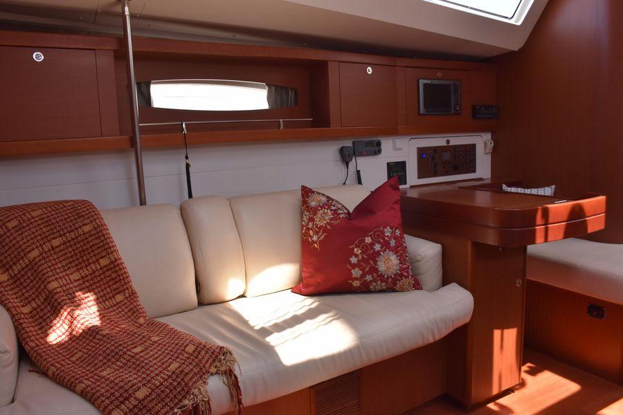 2013 Beneteau Oceanis 50 Sailboat Nav Station