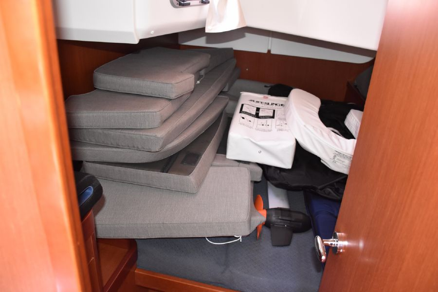 2013 Beneteau Oceanis 50 Cabin Storage