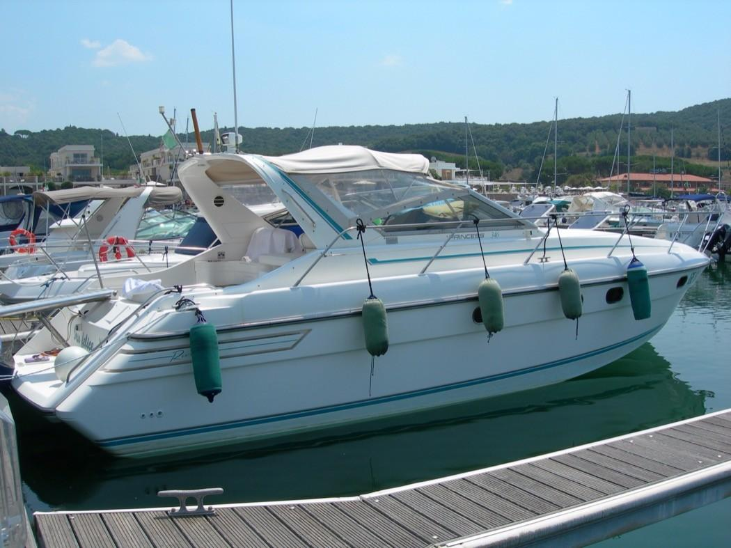 1992 Marine Projects Princess 346 366 Power Boat For Sale