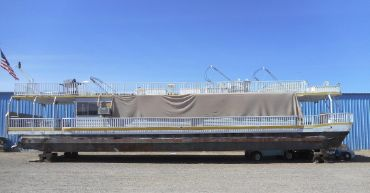 1987 Hansen 75 x 16 Pontoon Houseboat