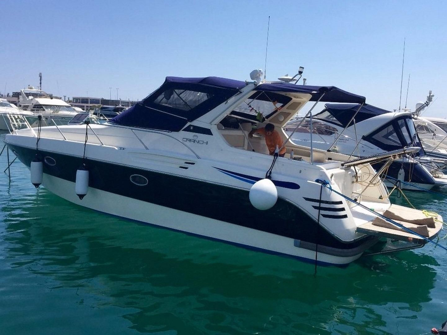 1997 Cranchi Smeraldo 36 Power Boat For Sale