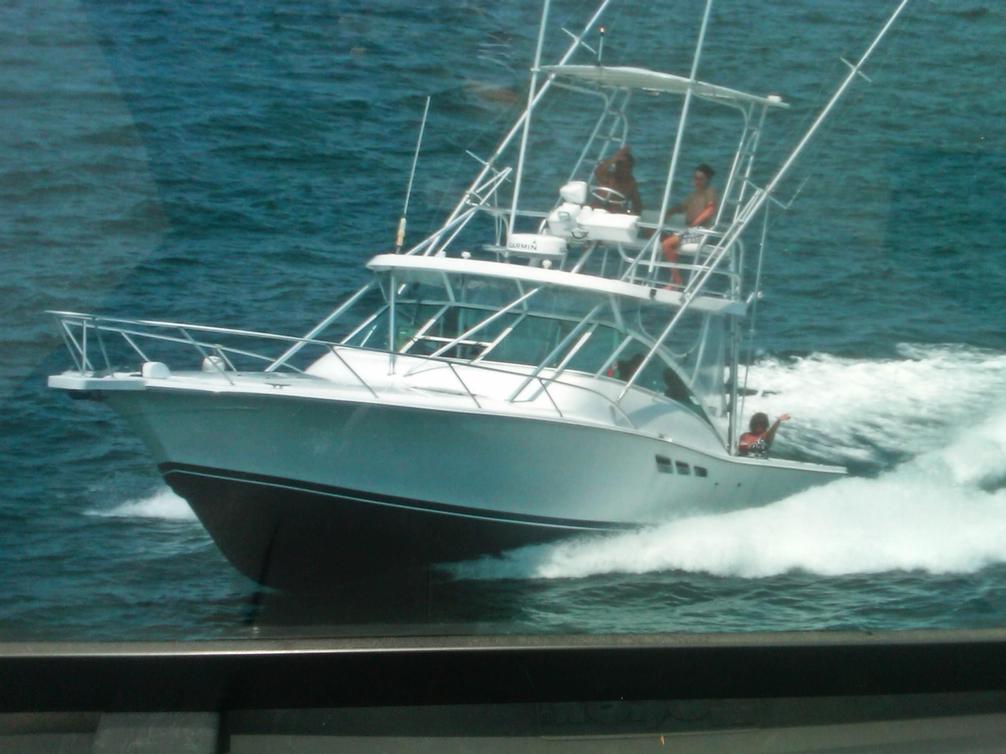 1998 luhrs express fisherman power boat for sale www for Express fishing boats for sale