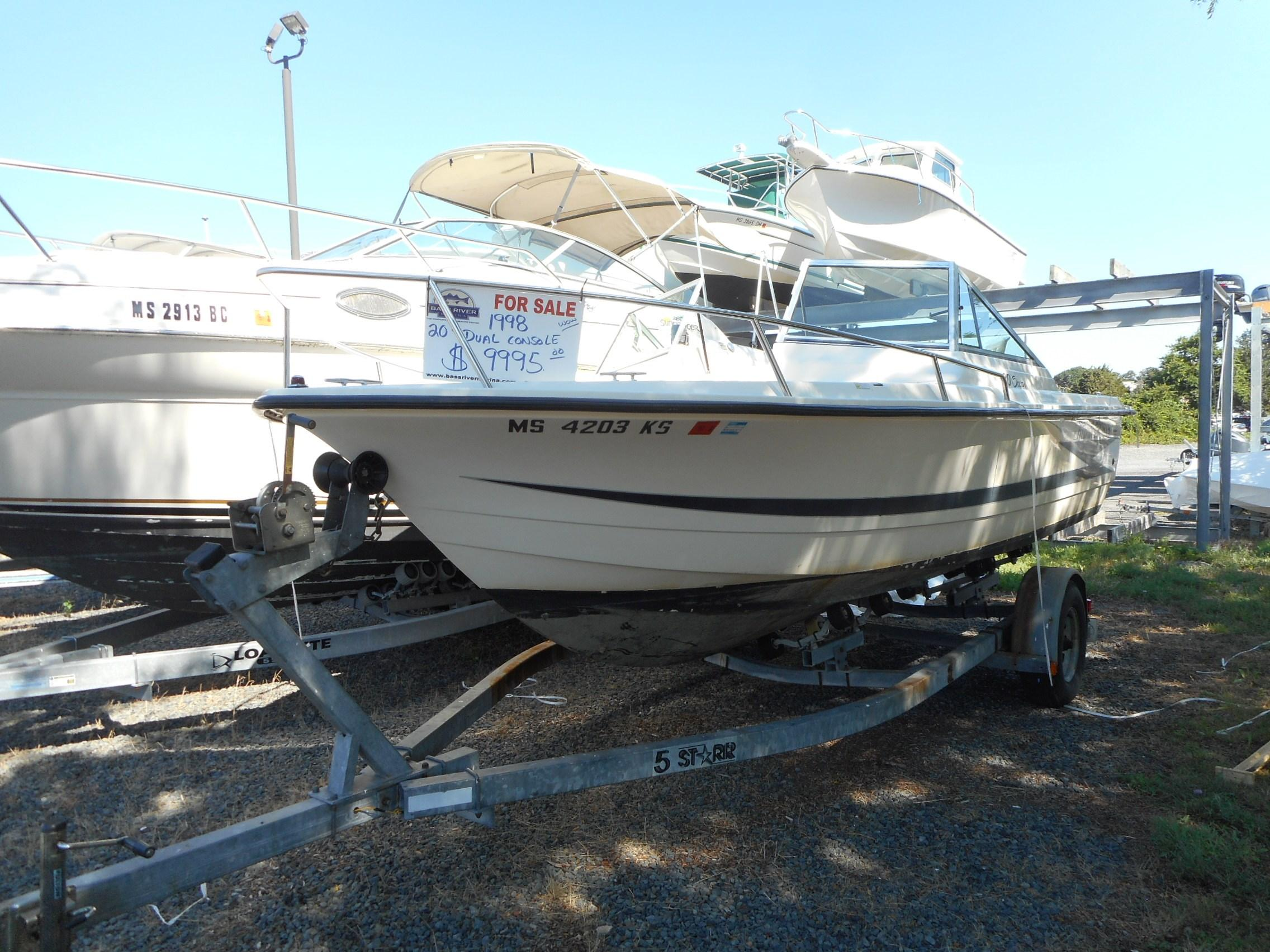 1998 Hydra Sports 20 Dual Console Ocean Power Boat For Sale