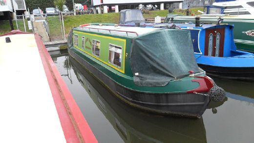 2001 35' Cruiser Stern Narrow Boat