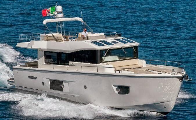 2014 cranchi eco trawler 53 motore barca in vendita www for Malta materiale