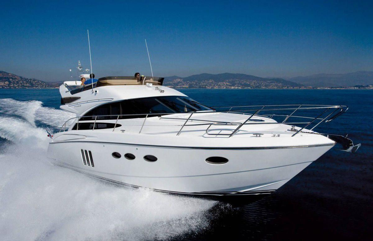 2008 Marine Projects Princess 50 Fly Power Boat For Sale Www Yachtworld Com